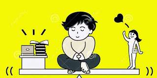 stop thinking girlfriend concentrate on study