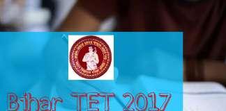 Bihar Primary TET 2017