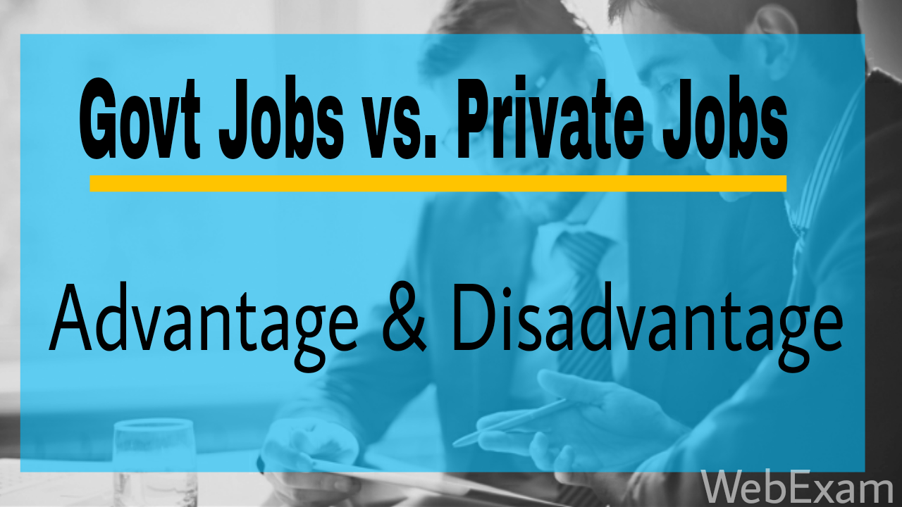 private job vs government job Public vs private sector audit jobs  the public sector is usually operated by the government and not designed for the  it is their job to ensure that these.