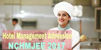 NCHMJEE 2017 Admission
