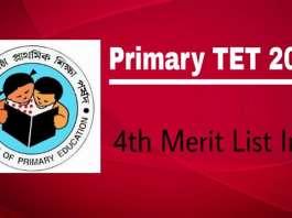 Primary TET 2014 Merit List