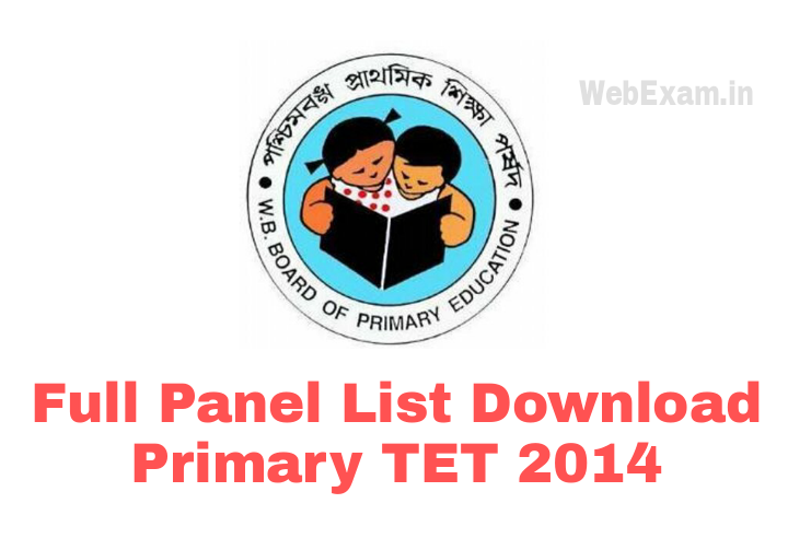 Primary TET Panel List
