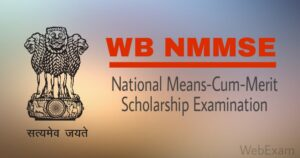 West Bengal NMMS Scholarship 2019