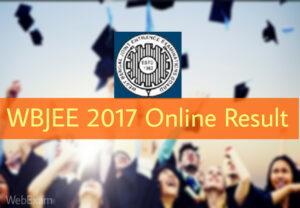 WBJEE Online Result