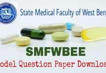 SMFWBEE Model Question Paper