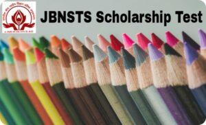 JBNSTS Scholarship Test