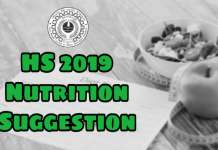 HS 2019 Nutrition Suggestion Download