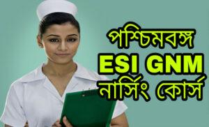 WB ESI GNM Nursing Traning