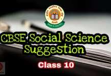 CBSE Social Science