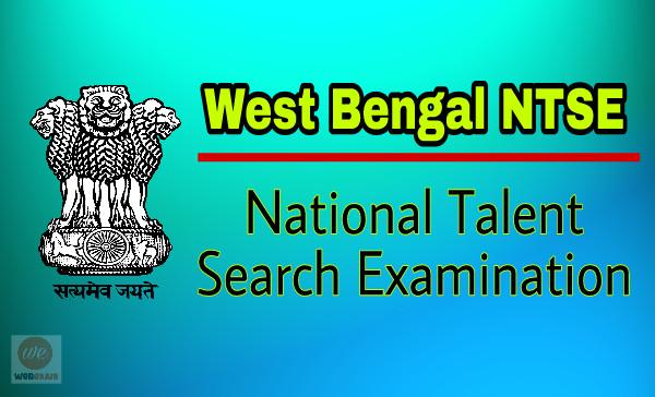 West Bengal NTSE Scholarship