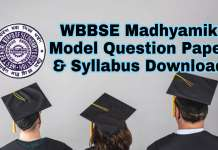Madhyamik 2019 Model Question