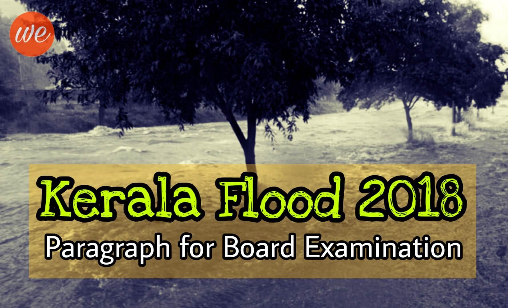 Kerala Flood 2018 Paragraph