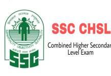 SSC CHSL Exam