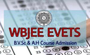 WBJEE EVETS 2020 Exam