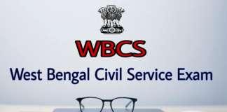 WBPSC WBCS 2019 exam