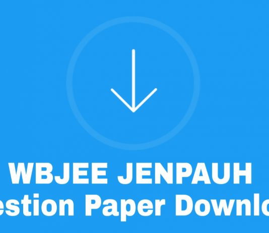 JENPAUH Previous Year Question paper Download