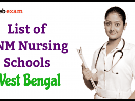 ANM Nursing Training Schools in West Bengal