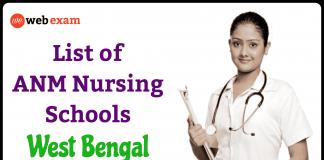 ANM Nursing Training Schools in West Bengal