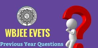 EVETS Previous Year Question Paper Download