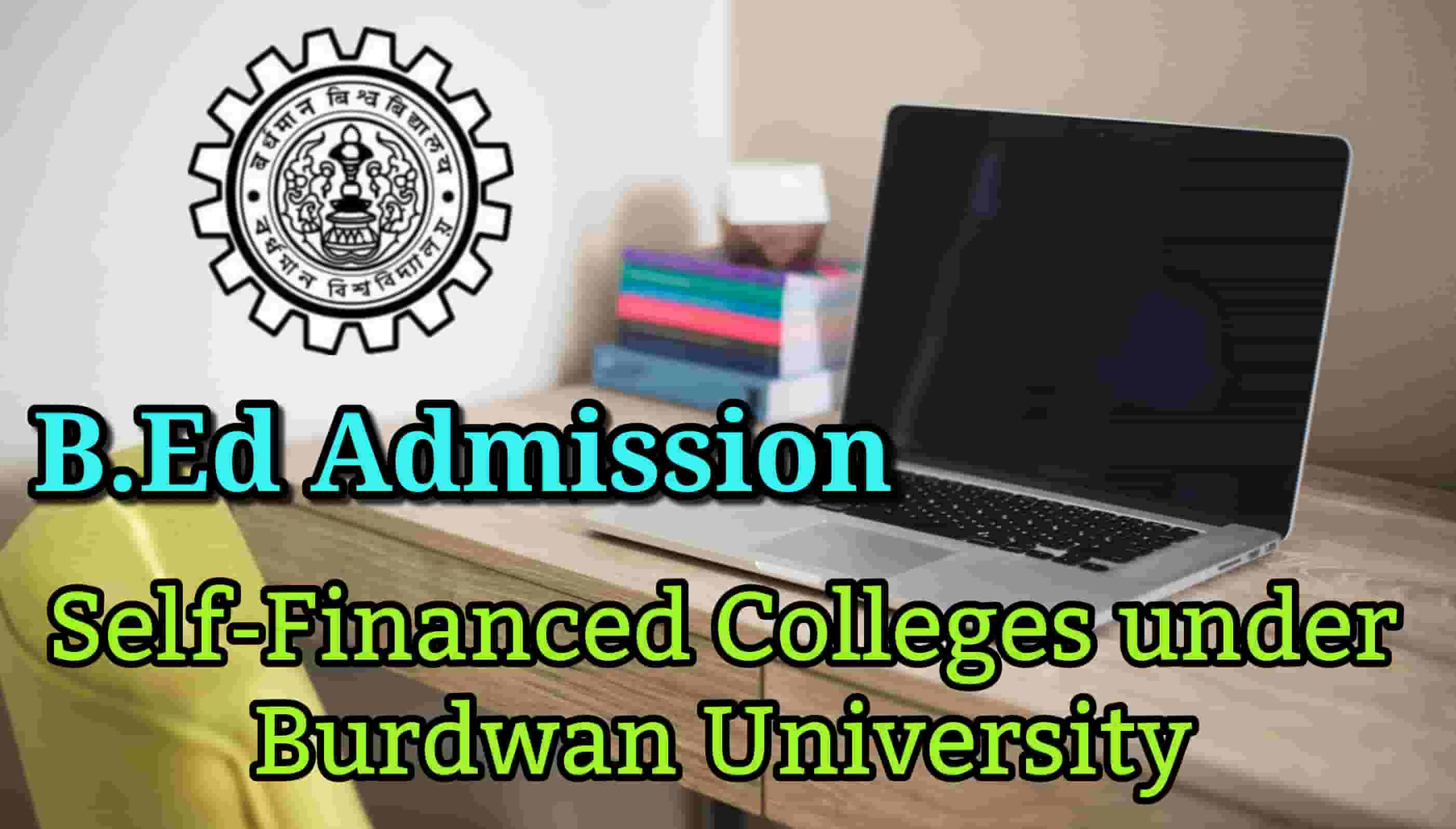 B.Ed Admission 2019 under Burdwan University