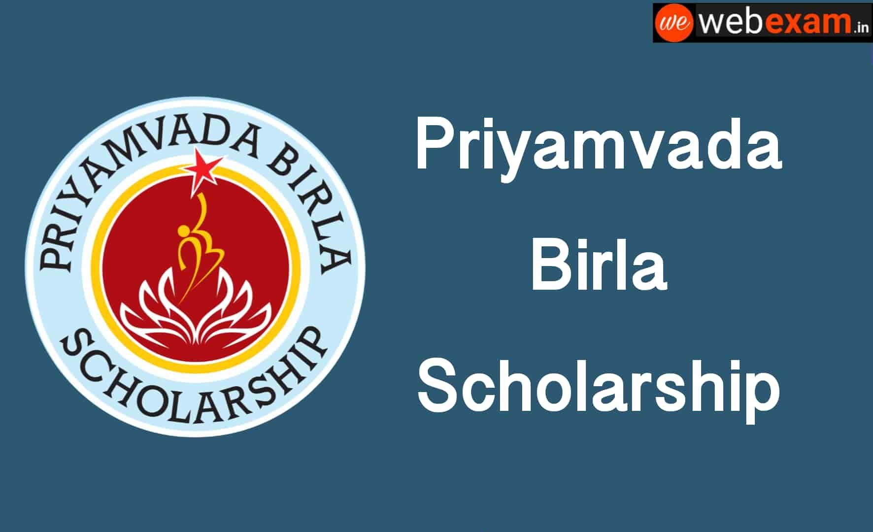 Priyamvada Birla Scholarship 2019