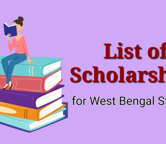 List of Scholarships for West Bengal Students