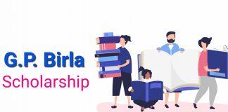 GP Birla Scholarship 2019