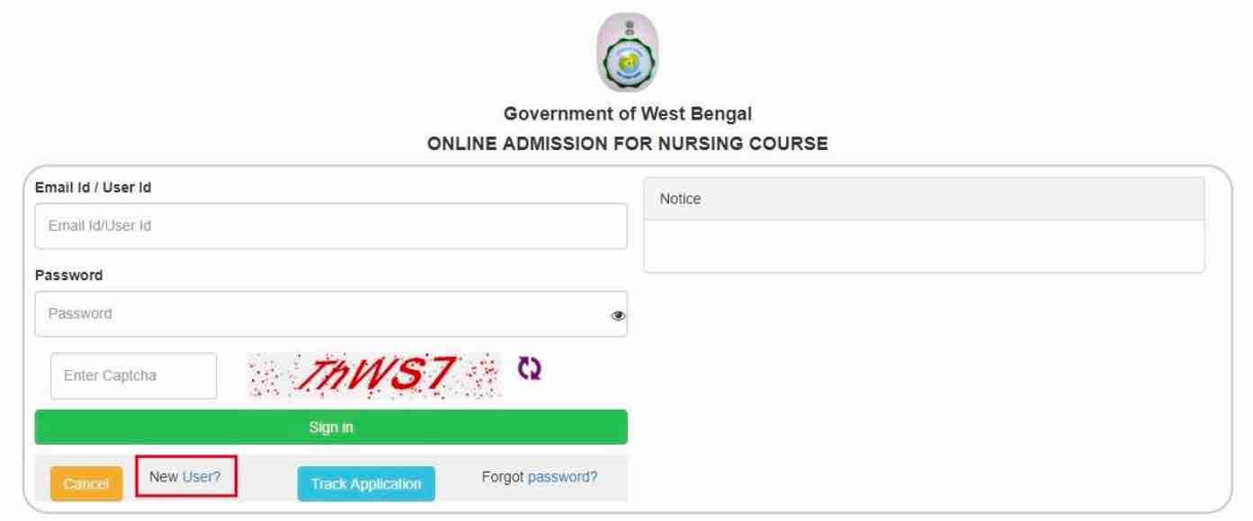 wb health nursing admission registration