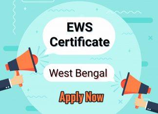 EWS Certificate West Bengal Application