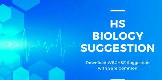 HS Biology Suggestion WBCHSE