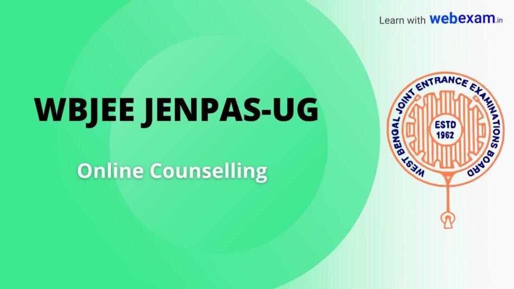 WBJEE JENPAS Counselling BSc Nursing