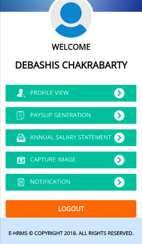 WB School Teachers Salary slip Download & Service Book Update - eHRMS Banglarshiksha 1