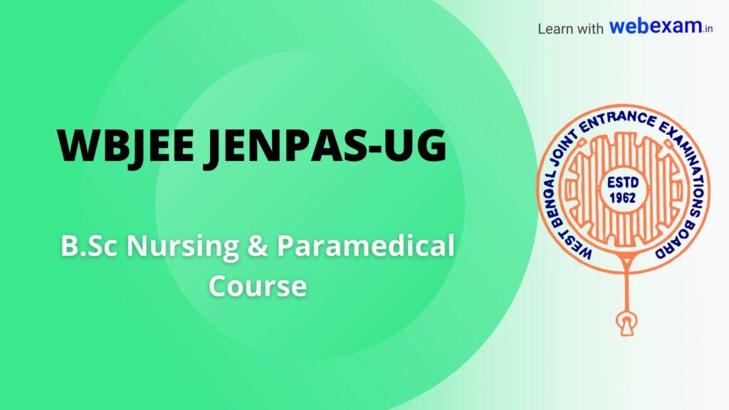 WBJEE JENPAS-UG Online Application