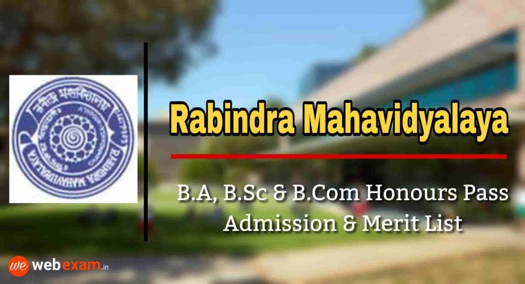 Rabindra Mahavidyalaya Admission