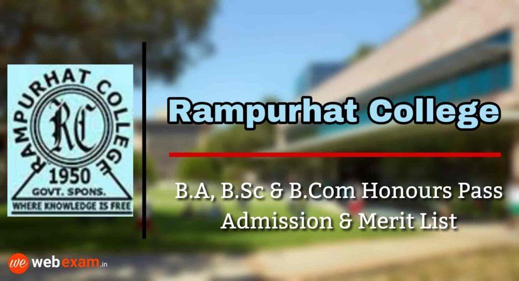 Rampurhat College Admission