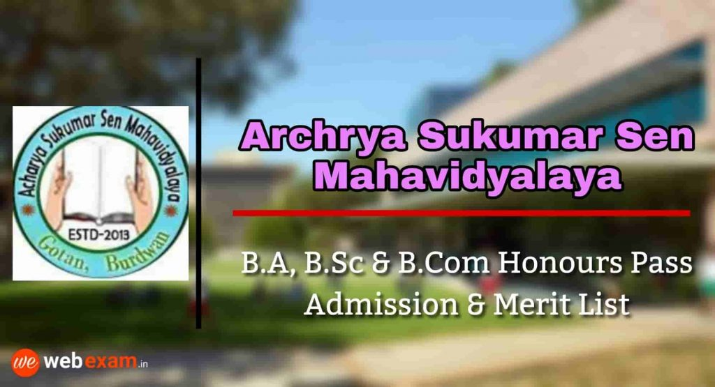 Archrya Sukumar Sen Mahavidyalay