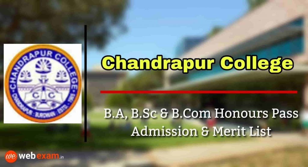 Chandrapur College Admission