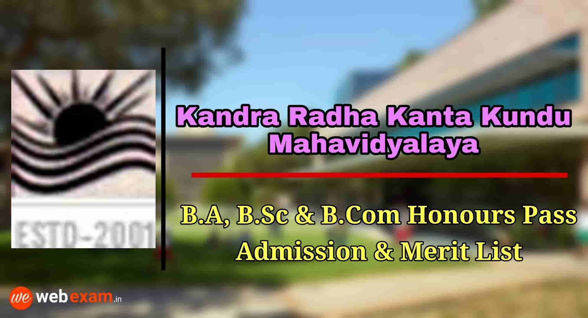 Kandra Radha Kanta Kundu Mahavidyalaya
