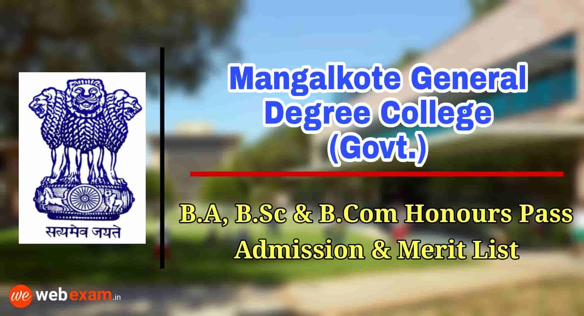 Mangalkote General Degree College (Govt.)