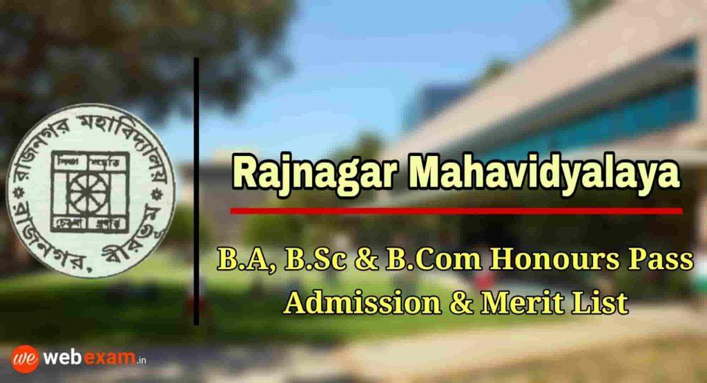 Rajnagar Mahavidyalaya Admission