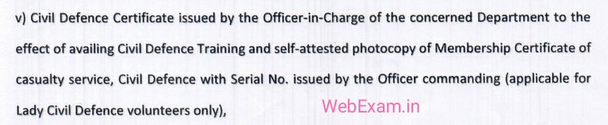 wb gnm civil defence details