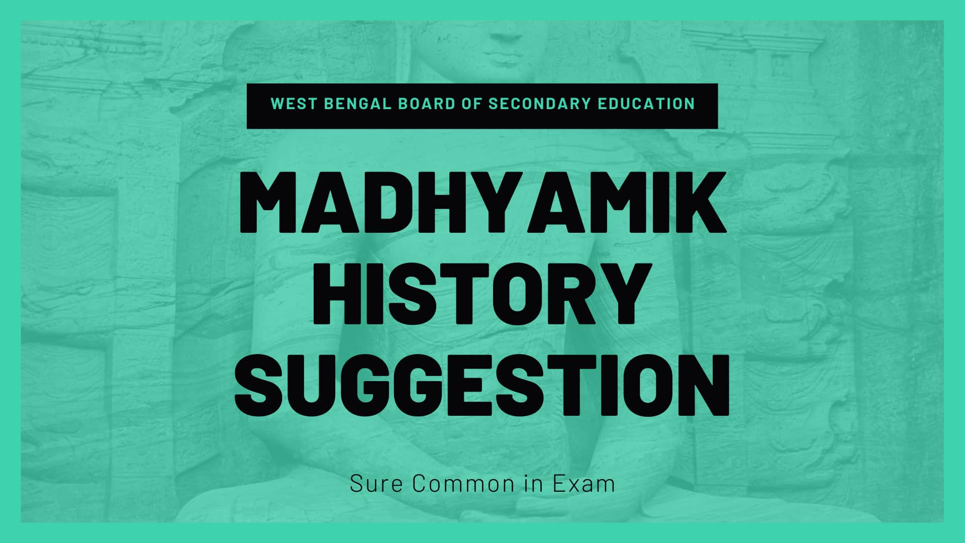 Madhyamik History Suggestion 2021 pdf download