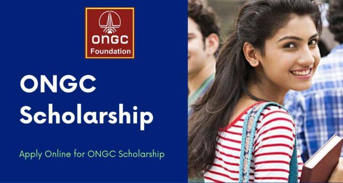 ONGC Scholarship scheme Online Application