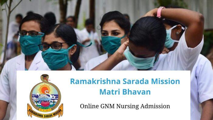 Ramakrishna Mission Matri Bhavan GNM Nursing
