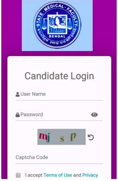 SMFWBEE 2020 Online Exam Portal