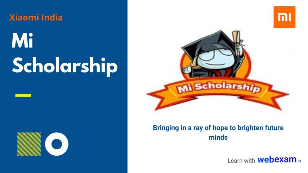 Mi Scholarship 2020 for School & College Students