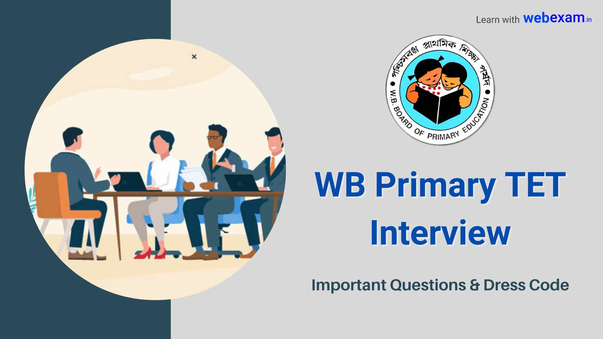 WBBPE Primary TET Interview Questions