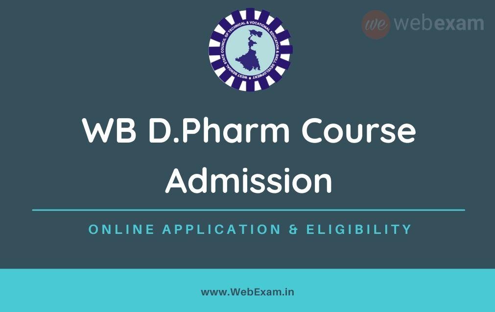 WB D Pharm Admission